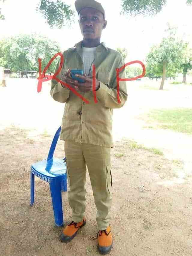 Male NYSC Member Dies After Traditional Marriage – See Pics