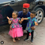 Caption This Photo of (Psquare) RudeBoy & Kids