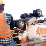 Commotion, Gridlock As Three Fuel Tankers Explode On Lagos-Ibadan Expressway