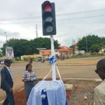 Photos From The Commissioning Of A 'traffic Light' In Cross Rivers State