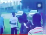 VIDEO: University Student Dragged Out Of Class By Parents Of The Young Lady He Impregnated
